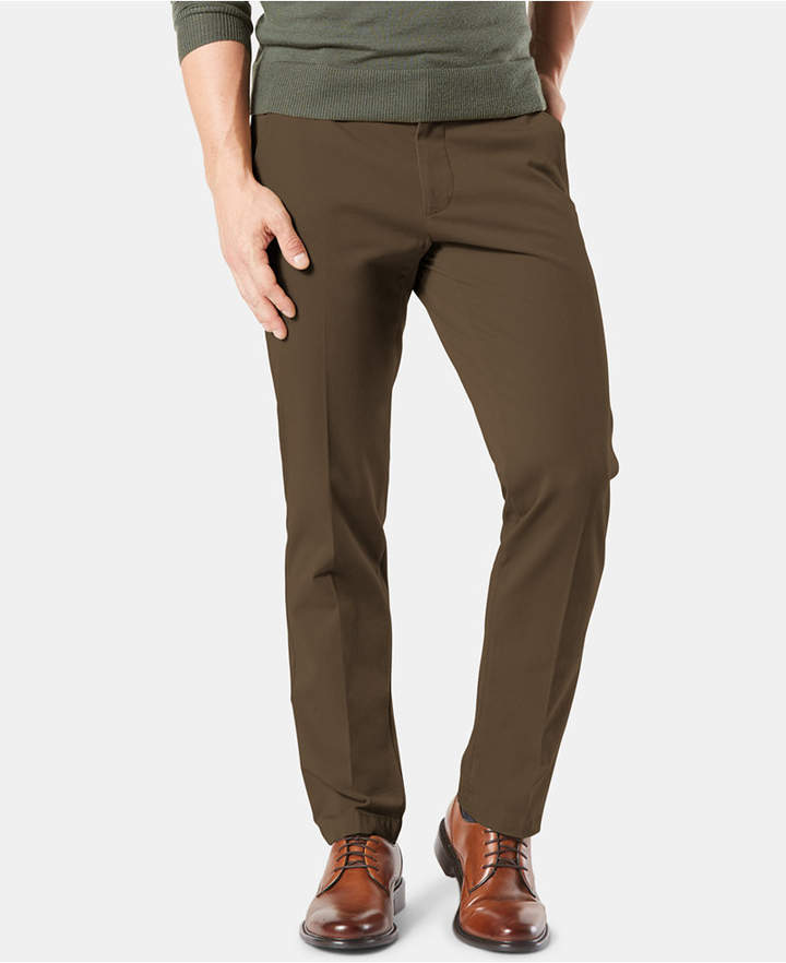 5f3073d1c5 Dockers Brown Men s Chinos And Khakis - ShopStyle