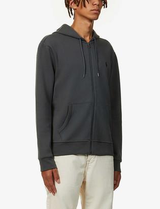Polo Ralph Lauren Logo-embroidered cotton-blend hoody