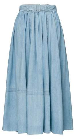 05989e20d1f Long Denim Skirts - ShopStyle