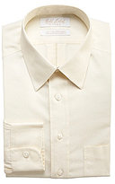 Roundtree & Yorke Gold Label Non-Iron Fitted Classic-Fit Point-Collar Dress Shirt
