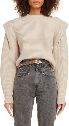 Isabel Marant Layered Cashmere & Wool Sweater