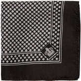 Dolce & Gabbana Circle-print silk pocket square