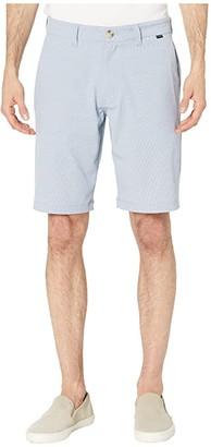 Travis Mathew Hot Springs Shorts (Heather Parisian Blue) Men's Shorts