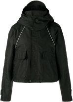 Balenciaga cropped parka jacket