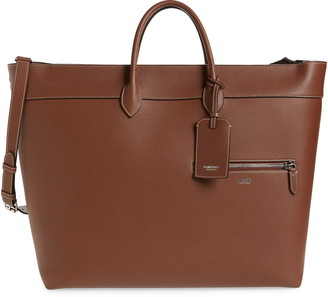 Burberry Sanford Leather Tote