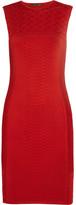Roberto Cavalli Knitted jacquard dress