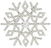 Nadri Jolly Cubic Zirconia Snowflake Pin