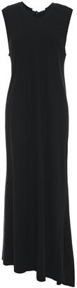 Ann Demeulemeester Asymmetric Open-back Stretch-jersey Maxi Dress