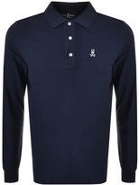 Psycho Bunny Classic Polo T Shirt Navy