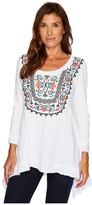 Roper 1392 Cotton Slub Jersey Top Women's Clothing