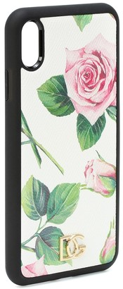 Dolce & Gabbana Printed iPhone XS Max case