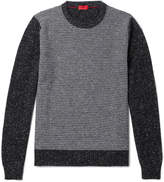 Isaia - Slim-Fit Striped Cashmere-Blend Sweater