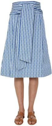 Tory Burch Striped Skirt