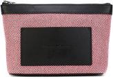 Alexander Wang canvas clutch bag - women - Cotton/Leather - One Size