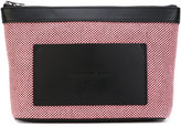 Alexander Wang canvas clutch bag