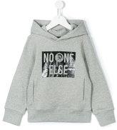 Diesel No One Else hoodie - kids - Cotton - 6 yrs