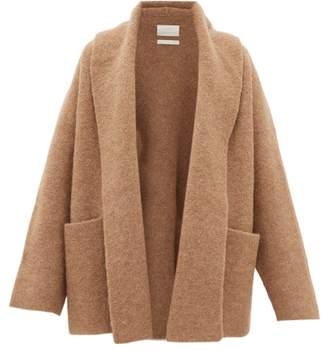 LAUREN MANOOGIAN Shawl-lapel Cardigan - Womens - Camel