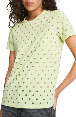Scotch & Soda Burnout Polka Dot T-Shirt