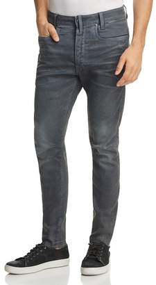 G Star D-Staq 3D Super Slim Jeans in Dark Aged Cobbler Blue