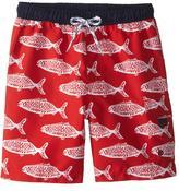 Snapper Rock Boys' Hampton Fish Classic Boardshort (2T10) - 8155119