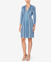 Catherine Malandrino Catherine Tinka Striped Fit & Flare Dress