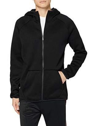 Urban Classic Men's Knit Fleece Zip Hoody (Black 00007), 4X-Large