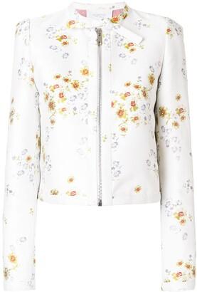 Giambattista Valli Floral-Brocade Jacket