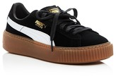 Puma Core Lace Up Platform Sneakers