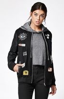 Obey Vacancy Patched Varsity Jacket