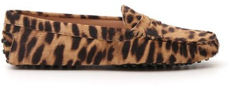 Tod's Leopard Printed Loafers