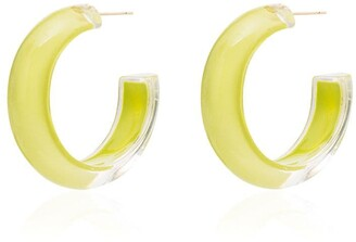 Alison Lou Loucite small jelly hoop earrings