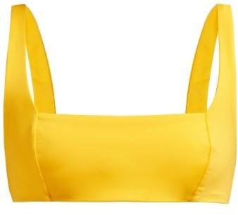 Mara Hoffman Meli Bikini Top - Womens - Yellow