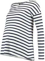 Isabella Oliver CAIA MATERNITY STRIPE Long sleeved top navy/white