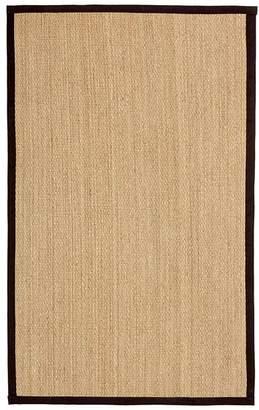 Pottery Barn Fibreworks®; Custom Color-Bound Seagrass Rug, 3' x 5' - Black