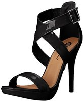 Michael Antonio Women's Luckey-Pat Dress Sandal