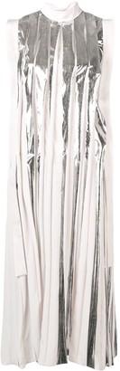 Marni Flared Pleated Dress