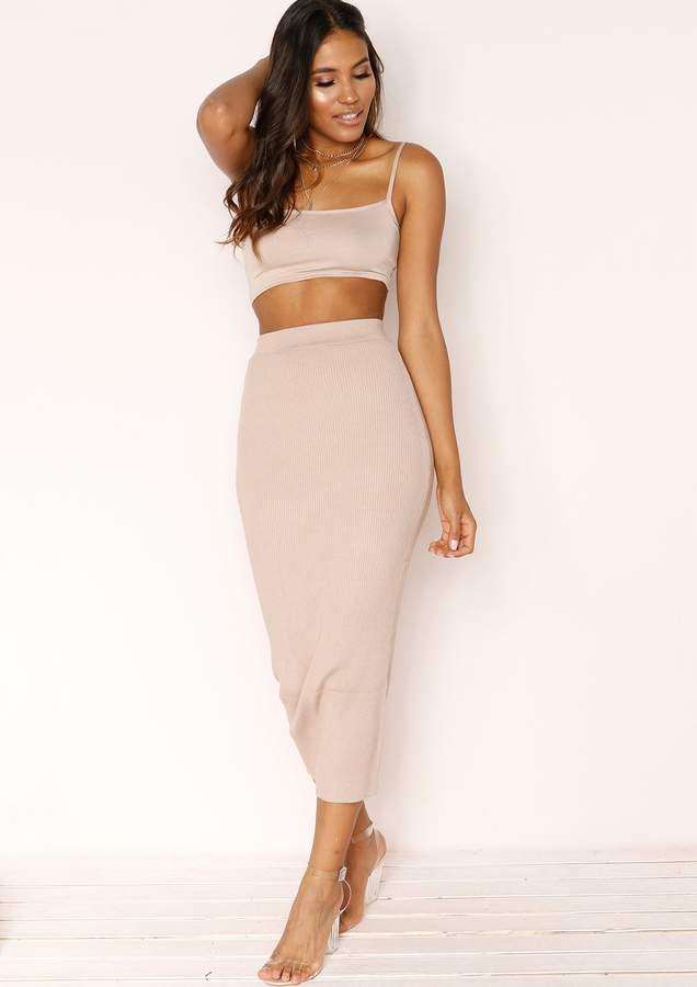 18357aa74b39 Missy Empire Mid Length Skirts - ShopStyle UK