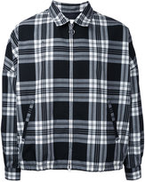 Monkey Time checked shirt jacket - men - Polyester/Wool - S