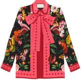 Gucci Garden exclusive silk shirt