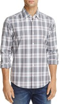 HUGO BOSS Lance Oxford Check Regular Fit Button-Down Shirt
