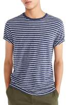 J.Crew J. CREW Stripe Slub Cotton T-Shirt