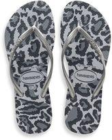 Havaianas Slim Animals Women's Sandal in Ice Grey