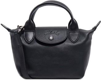 Longchamp XS Le Pliage Cuir Top Handle Bag
