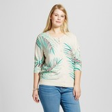 Merona Women's Plus Size Favorite Cardigan Palm