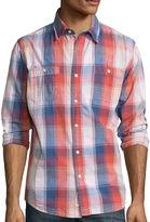 Lee Long-Sleeve Textured Button-Front Shirt