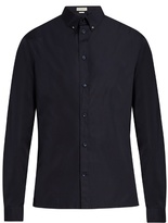 Balenciaga Button-down Collar Cotton-poplin Shirt