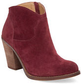 Lucky Brand Eller Western Leather Booties