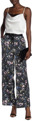 Laundry by Shelli Segal Floral Print Wide Leg Pants