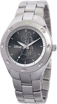 disney watches for men shopstyle disney fortaleza mickey mouse mens silver tone watch
