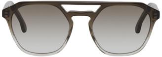 Paul Smith Black Gradient Barford Sunglasses